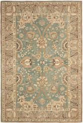 Safavieh Anatolia AN558D Teal and Camel