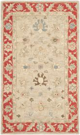 Safavieh Anatolia AN569A Taupe and Red