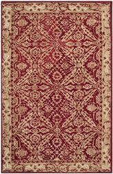 Safavieh Anatolia AN583B Red and Ivory