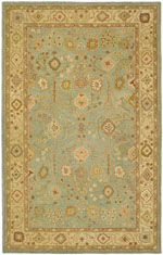 Safavieh Antiquity AT317A Teal and Beige