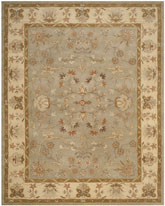 Safavieh Antiquity AT62A Light Grey and Beige