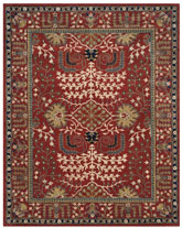 Safavieh Antiquity AT64A Red and Multi
