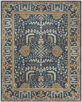 Safavieh Antiquity AT64B Dark Blue and Multi