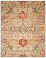 Safavieh Antiquity AT830A Beige and Multi