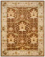 Safavieh Antiquity AT840B Brown and Beige