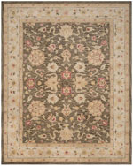 Safavieh Antiquity AT853A Olive Grey and Beige