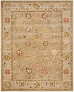 Safavieh Antiquity AT859B Taupe and Beige