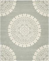 Safavieh Bella BEL122A Grey and Ivory
