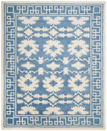 Safavieh Bella BEL132A Blue and Ivory
