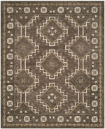 Safavieh Bella BEL672A Brown and Taupe