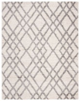 Safavieh Berber Shag BER214A Cream and Grey