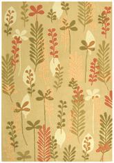 Safavieh Berkeley BK367B Taupe and Green