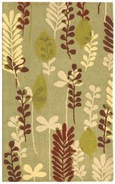 Safavieh Berkeley BK367C Fern and Ivory