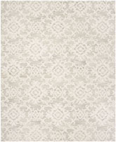 Safavieh Blossom BLM104A Grey and Ivory