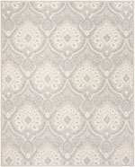 Safavieh Blossom BLM106A Light Grey and Ivory