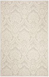 Safavieh Blossom BLM106G Silver and Ivory
