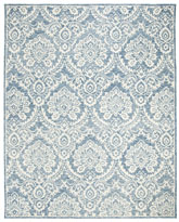 Safavieh Blossom BLM106M Blue and Ivory