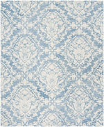 Safavieh Blossom BLM107B Blue and Ivory