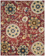 Safavieh Blossom BLM401C Red and Multi
