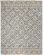 Safavieh Blossom BLM420A Light Beige and Blue