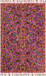 Safavieh Blossom BLM451A Purple and Multi