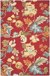 Safavieh Blossom BLM672A Red and Multi