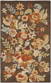 Safavieh Blossom BLM915A Brown and Multi