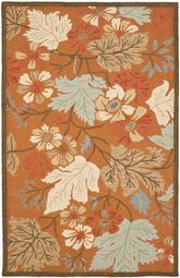 Safavieh Blossom BLM917A Rust and Multi