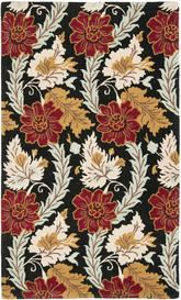 Safavieh Blossom BLM921A Black and Multi