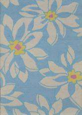 Safavieh Blossom BLM924A Light Blue and Ivory