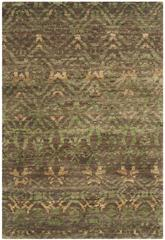 Safavieh Bohemian BOH623A Green and Brown