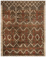 Safavieh Bohemian BOH668A Dark Brown and Multi