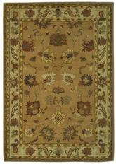 Safavieh Bergama BRG136A Taupe and Ivory