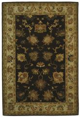Safavieh Bergama BRG136B Brown and Ivory