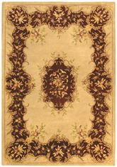 Safavieh Bergama BRG166C Ivory and Rust