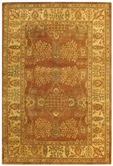 Safavieh Bergama BRG190A Light Brown and Beige