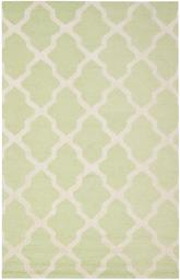 Safavieh Cambridge CAM121B Light Green and Ivory