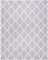 Safavieh Cambridge CAM121C Lavender and Ivory