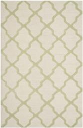 Safavieh Cambridge CAM121N Ivory and Light Green