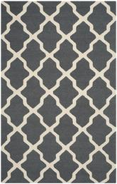 Safavieh Cambridge CAM121X Dark Grey and Ivory