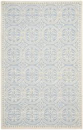 Safavieh Cambridge CAM123A Light Blue and Ivory
