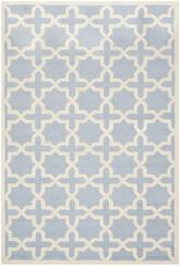 Safavieh Cambridge CAM125A Light Blue and Ivory