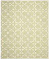 Safavieh Cambridge CAM125B Light Green and Ivory