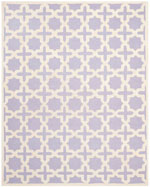 Safavieh Cambridge CAM125C Lavender and Ivory