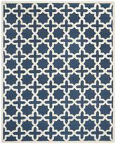 Safavieh Cambridge CAM125G Navy Blue and Ivory