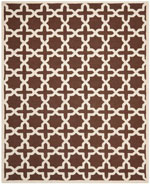 Safavieh Cambridge CAM125H Dark Brown and Ivory