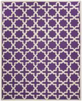 Safavieh Cambridge CAM125K Purple and Ivory