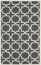 Safavieh Cambridge CAM125X Dark Grey and Ivory