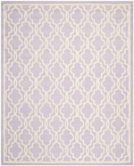 Safavieh Cambridge CAM131C Lavender and Ivory