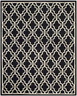 Safavieh Cambridge CAM131E Black and Ivory